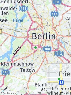 Here Map of Friedenau