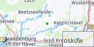 Google Map of Roskow