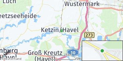 Google Map of Ketzin