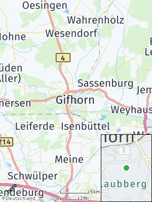 Here Map of Gifhorn
