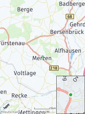 Here Map of Merzen