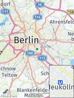 Here Map of Neukölln