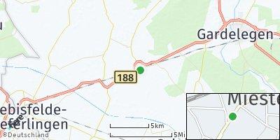 Google Map of Mieste