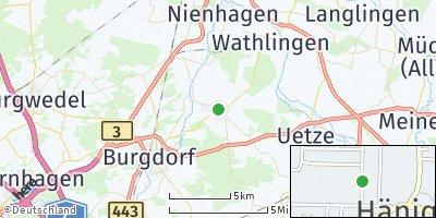 Google Map of Hänigsen