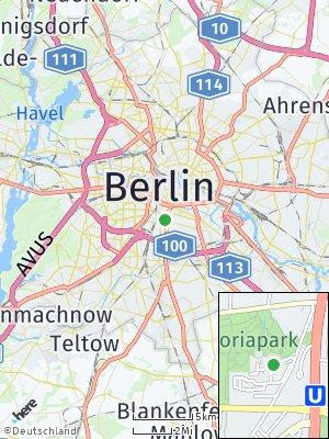 Here Map of Kreuzberg