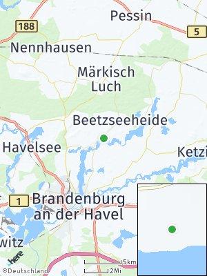 Here Map of Beetzseeheide