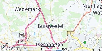 Google Map of Großburgwedel