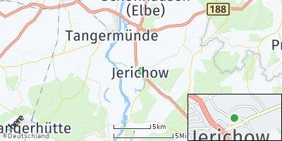 Google Map of Jerichow