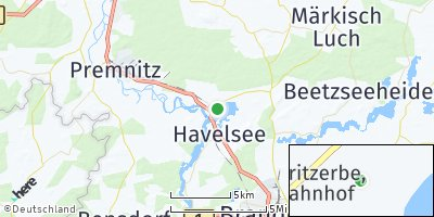 Google Map of Havelsee