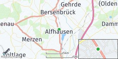 Google Map of Alfhausen