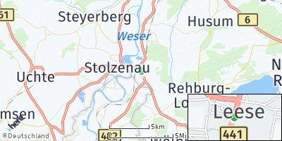 Google Map of Leese