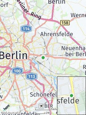 Here Map of Friedrichsfelde