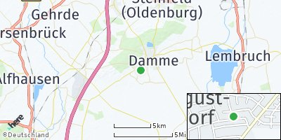 Google Map of Clemens-August-Dorf
