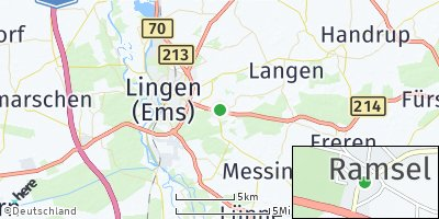 Google Map of Ramsel