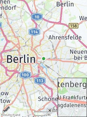 Here Map of Lichtenberg