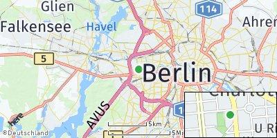 Google Map of Charlottenburg
