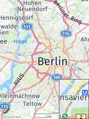 Here Map of Hansaviertel