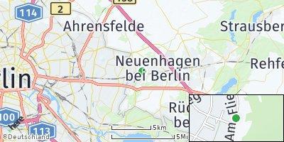 Google Map of Hoppegarten