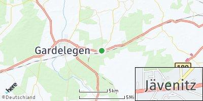 Google Map of Jävenitz