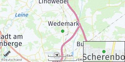Google Map of Scherenbostel