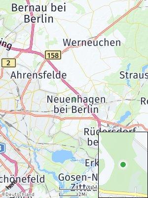 Here Map of Neuenhagen bei Berlin