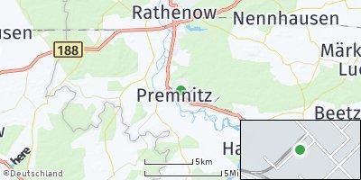 Google Map of Premnitz