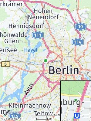 Here Map of Charlottenburg-Nord