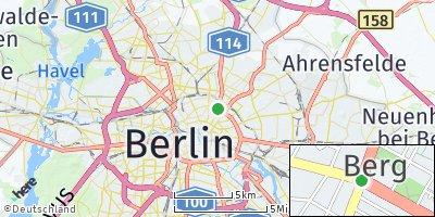 Google Map of Prenzlauer Berg