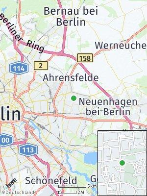 Here Map of Hellersdorf