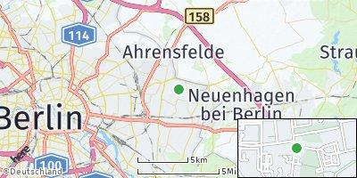 Google Map of Hellersdorf