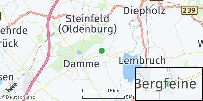 Google Map of Bergfeine