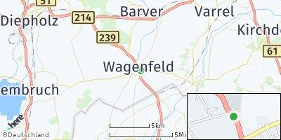 Google Map of Wagenfeld
