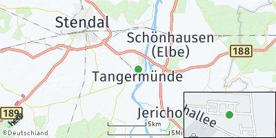 Google Map of Tangermünde