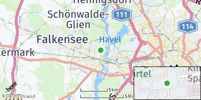 Google Map of Spandau