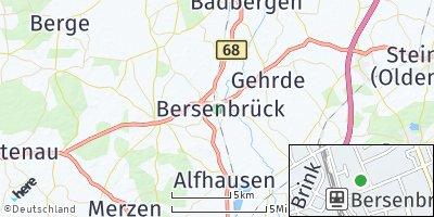 Google Map of Bersenbrück
