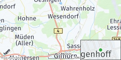 Google Map of Wagenhoff