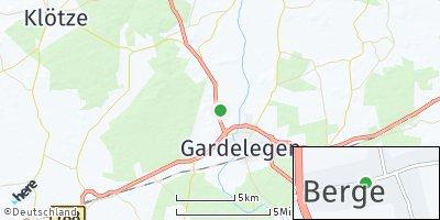 Google Map of Berge bei Gardelegen
