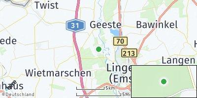 Google Map of Wachendorf