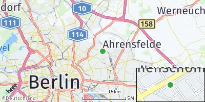 Google Map of Neu-Hohenschönhausen