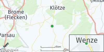 Google Map of Wenze