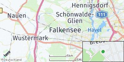 Google Map of Falkensee
