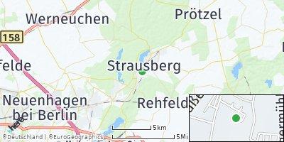 Google Map of Strausberg