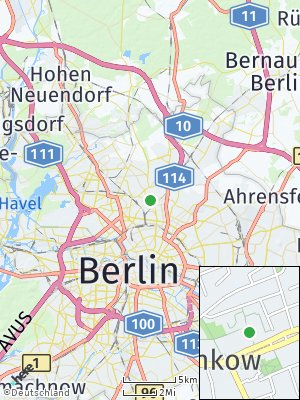 Here Map of Pankow
