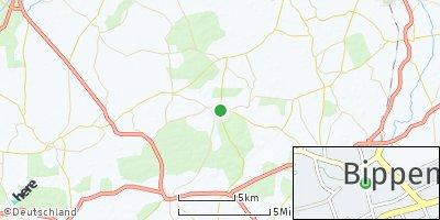 Google Map of Bippen