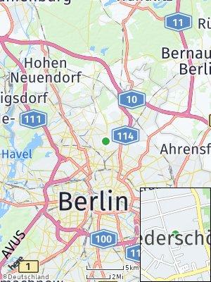 Here Map of Niederschönhausen