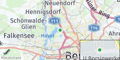 Google Map of Tegel