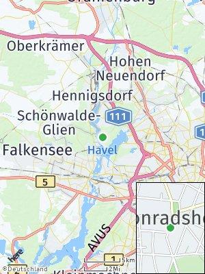 Here Map of Konradshöhe