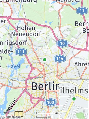 Here Map of Wilhelmsruh