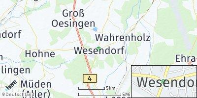 Google Map of Wesendorf
