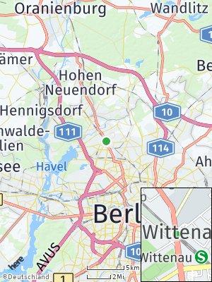Here Map of Wittenau